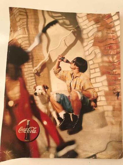 Afiche Coca Cola Publicidad