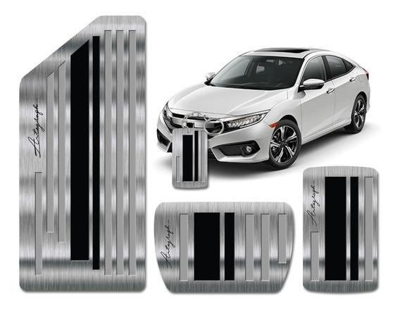 Pedaleira E Descanso Compatível Honda Civic Autograph G10