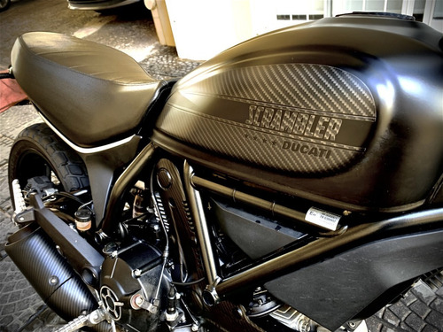 Ducati Scramble 400 Sixty 2 Carbon 1* Mano Impecable