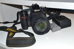 Camera Nikon D90 Com Lente E Acessorios