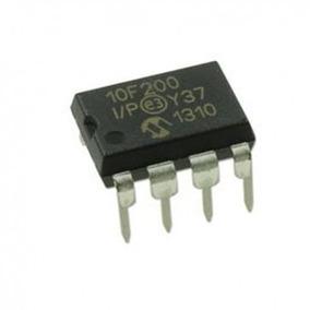 Microcontrolador Pic10f200 - I/ip 10 Unidades