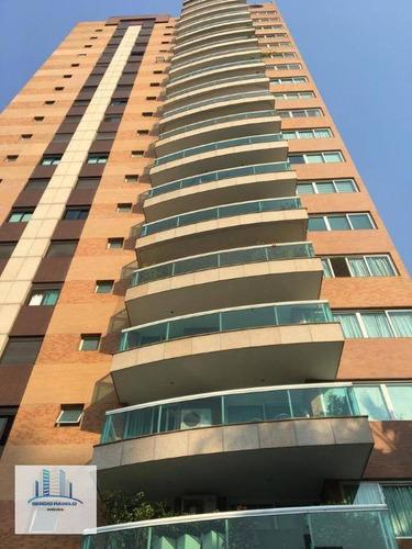 Imagem 1 de 30 de Apartamento À Venda, 245 M² Por R$ 3.200.000,00 - Moema - São Paulo/sp - Ap3770