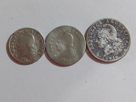 Monedas Argentinas Siglo Xx (1916)