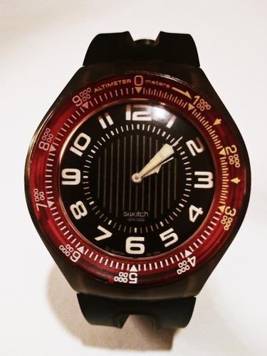 Relógio De Pulso Swatch Preto Original