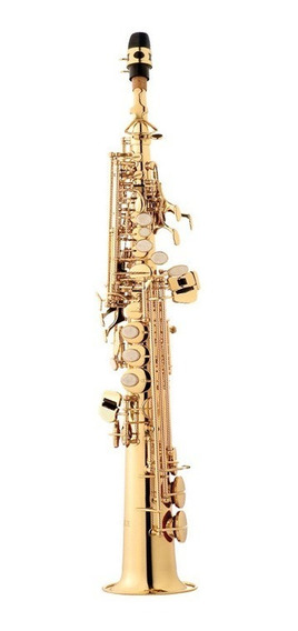 Saxofone Eagle Soprano Sib Sp502 Envio Imediato! Promoção!