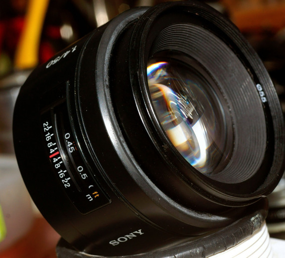 Sony 50mm 1.4 Af Para Sony Alpha Montura A
