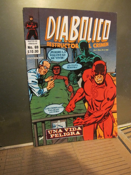 1 Comic De Diabolico Novedades Editores # 69