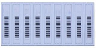 Etiqueta Acustica Fake Barcode, 1 Box Of 5k