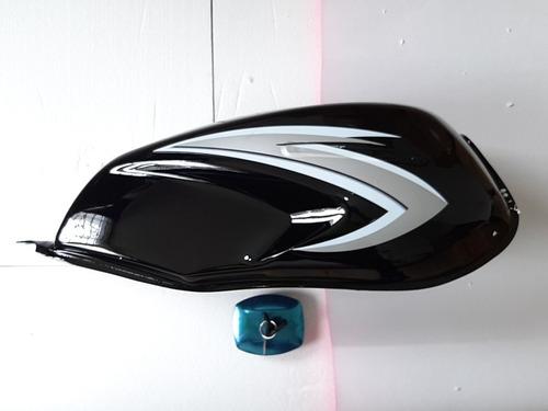 Tanque Ax 100 Con Tapa De Gasolina Moto Suzuki Set Ax100