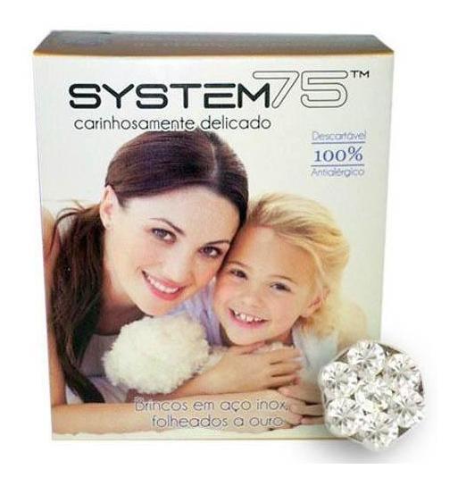 Brincos Baby System 75 Dayse Cristal