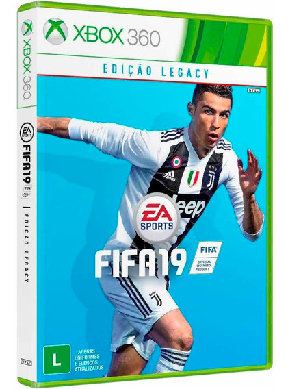 Fifa 19 Xbox 360 - Mídia Digital (totalmente Em Português)