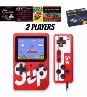 Nintendo Sup 400 Juegos + Control Juegan 2 En Tv 20v