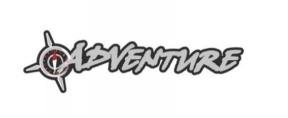Emblema Adesivo Adventure Doblô / Strada - Pequeno