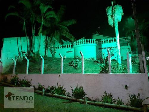 Imagem 1 de 24 de Imob03 - Chácara Com 3 Dormitórios À Venda, 900 M² Por R$ 400.000 - Parque Cerejeiras - Suzano/sp - Ch0092