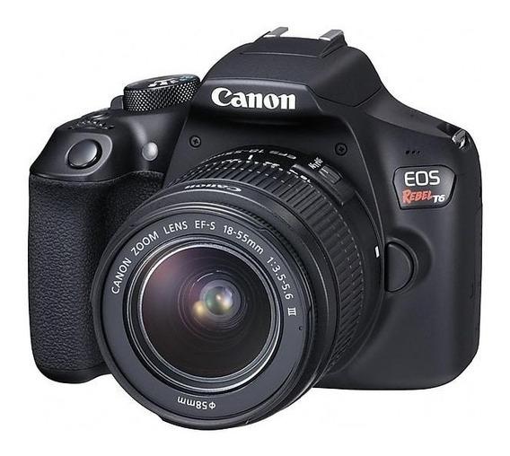 Câmera Profissional Canon Rebel Eos T6