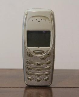 Celular Nokia 3310 Antigo Tijolão Defeito