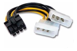 Adaptador Cable 2 Molex A 8 Pines Pci-e Xtatil Belgrano