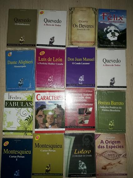 Coleção Com 15 Livros Literatura/filosofia