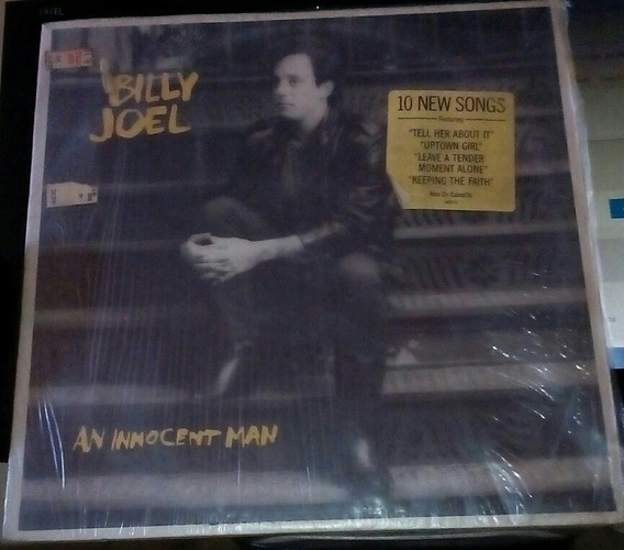 Lp Billy Joel An Innocent Man 1983 Importado Usa Excelente