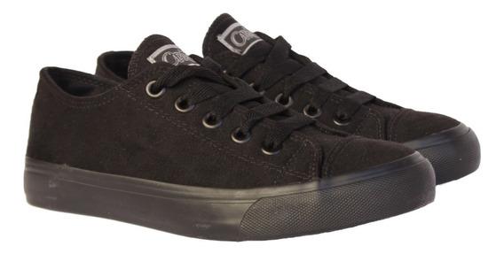 Tênis Capricho Shoes Like Suede Preto 100% Original Com N F