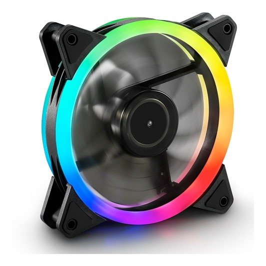 Fan Cooler Sharkoon Shark Blades Rgb Iluminación Led 20 Sk-s