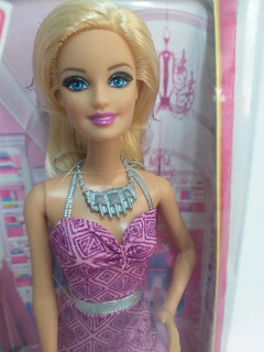 Barbie Fashionistas 2014 Looks Dream House - Vestido Lilás