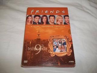 Dvd - Friends Nona Temporada Completa 4 Dvds Seriado 9
