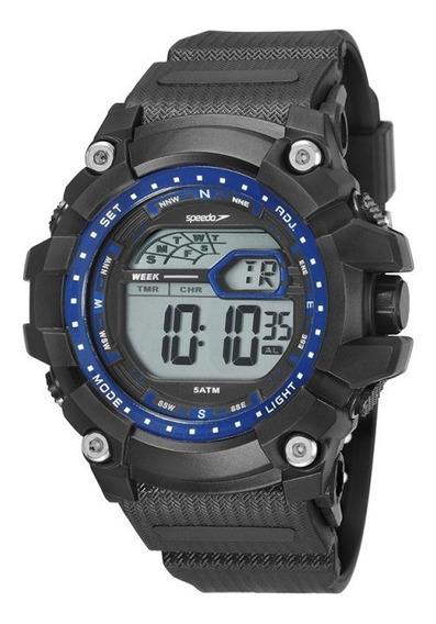 Relógio Speedo Masculino Digital Preto 11004g0evnp4