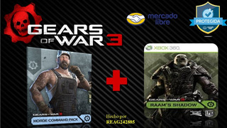 Comando De Horda Y La Sombra De Raam - Dlc - Xbox 360