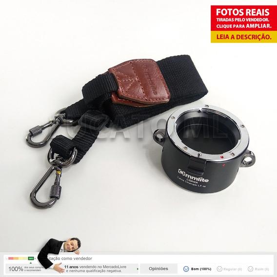 Porta Lentes 2x1 P/ Lente Nikon Até 12x S/juros +fretegrátis