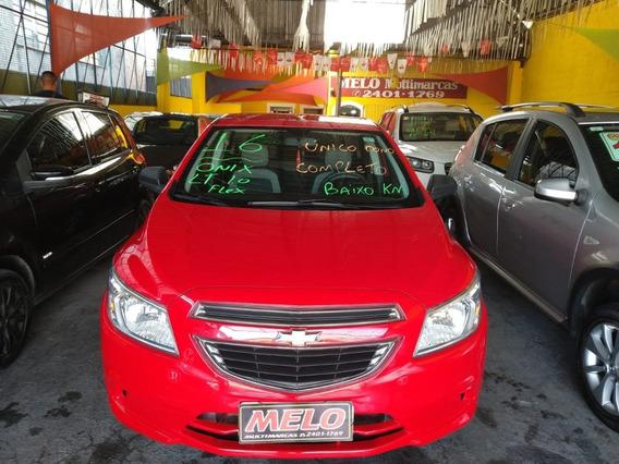 Chevrolet Onix 1.0 Lt 8v Flex Ano 2016 Completo Unico Dono