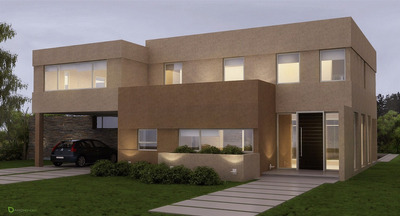 Casa A Estrenar La Horqueta Canning 6 Ambientes 280mt Pileta