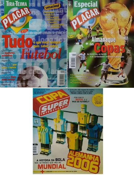 Lote De Revistas Placar E Super Interessante - Especial
