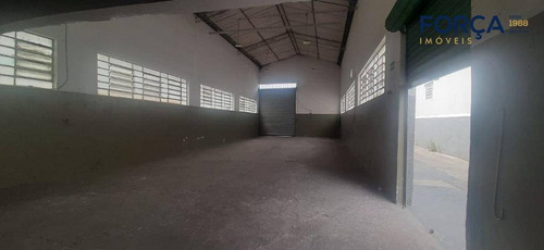 Galpão Para Alugar, 252 M² - Cidade Industrial Satélite De São Paulo - Guarulhos/sp - Ga0830