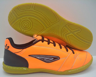 Tenis Futsal Couro Diavolo Star, Solado Costurado
