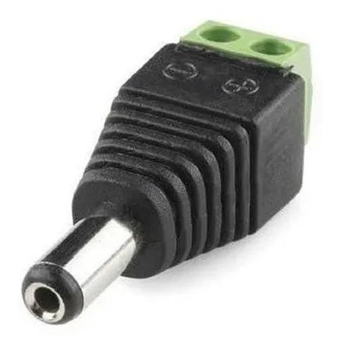 Ficha Plug Macho 5.5-2.1 Bornera Gralf Calidad Premium X100