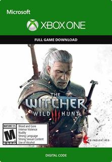 Codigo The Witcher 3: Wild Hunt Xbox Global