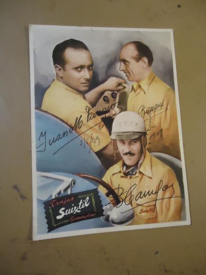 Postales Antiguas De Fangio (bill)