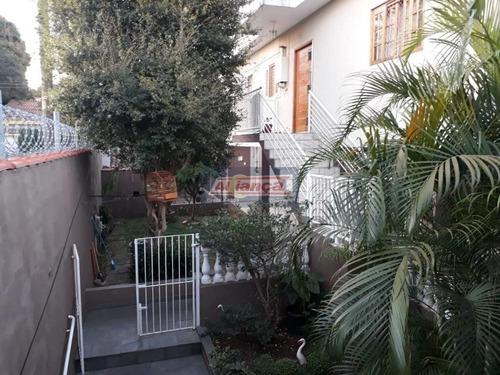 Casa Com 2 Dormitórios E 1 Edicula À Venda, 293 M² - Jardim América - Guarulhos/sp - Cód. Ca2196 - Ai13752