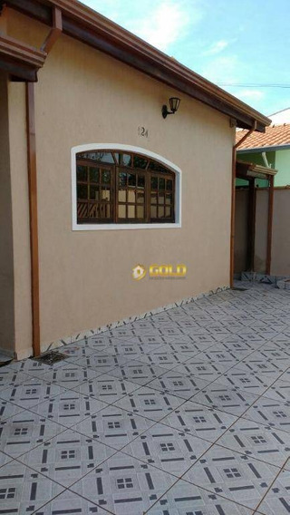 Casa Com 3 Dormitórios À Venda, 160 M² Por R$ 350.000,00 - Residencial São José - Paulínia/sp - Ca0323