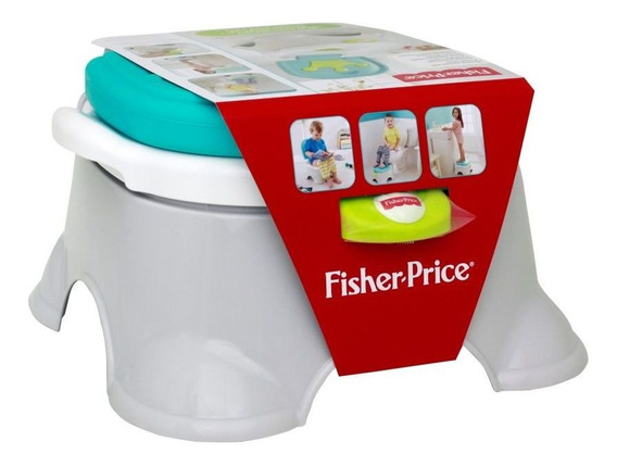 Fisher-price, Bacinica 2 En 1 Azul