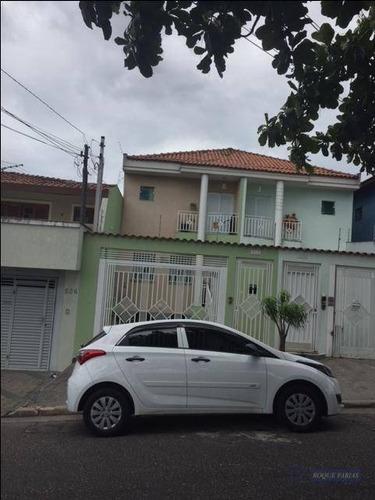 Sobrado Com 3 Dormitórios À Venda, 211 M² Por R$ 800.000,00 - Vila Butantã - São Paulo/sp - So0539