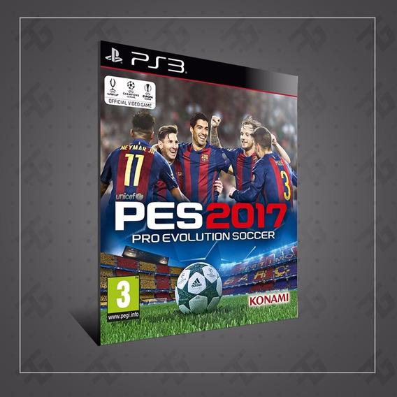 Pes 17 Pro Evolution 2017 Pes Ps3 Cod Psn 24 Horas Promo