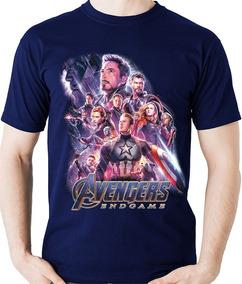 Camiseta Vingadores Ultimato Avengers Endgame Camisa Blusa
