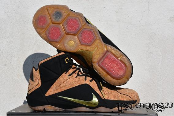 Nike Lebron 12 Ext Cork - En Caja Talla 9.5mx