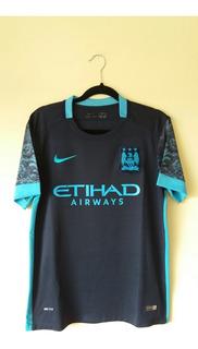 Camisa Third Manchester City 2015 - Agüero #10