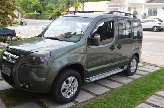 Vendo Doblo Adventure Gasolina/gnv 5ta Geração 2011 Completa