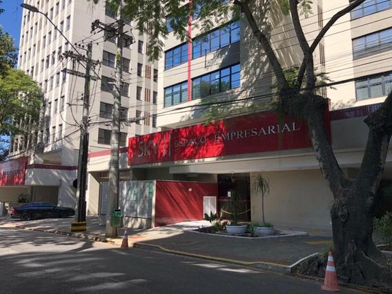 Sala Comercial Edif. Sky Ii Em São José Dos Campos - 56 Mtss