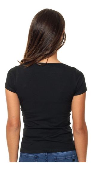 Remera Mujer Basica M/corta Modal Poliestar. Mayor Y Menor