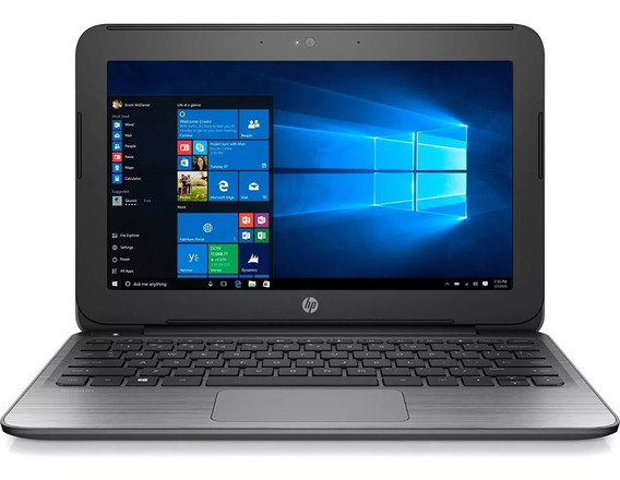 Notebook Hp Stream 11 Pro G2 Intel Celeron 64gb Ssd Win 10.